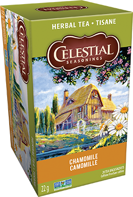 Celestial seasonings tisane Camomille