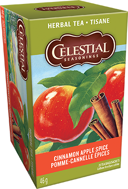 Celestial seasonings tisane Pomme-cannelle épices