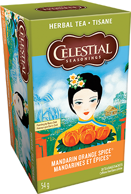 Celestial seasonings tisane Mandarines et épices