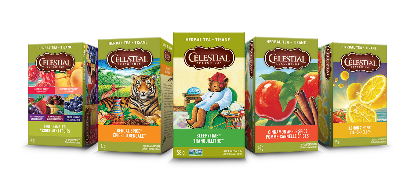 Celestial seasonings herbal tea portfolio